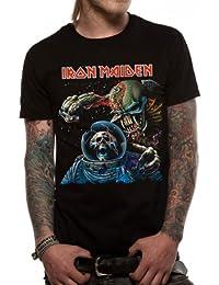 Official License Iron Maiden Final Frontier Album Men's T-Shirt