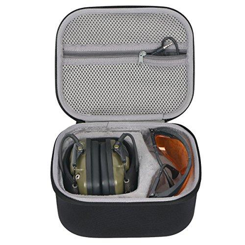 Hard Travel Storage Tragetasche für Honeywell 1013530 Howard Leight Impact Sport Ohrenschützer von co2CREA (black-large)