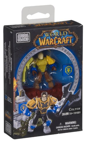 Mega Bloks 91001 World of Warcraft Colton