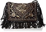 Antik Batik Damen Ziggy Wallet Taschenorganizer, Schwarz (Black), 2x20x25 cm
