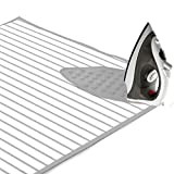 #8: Encasa Homes Padded Ironing Mat (Large) with Iron Rest - Stripes