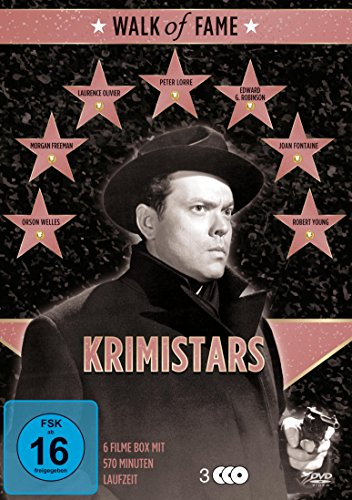 Walk of Fame - Krimistars [3 DVDs]