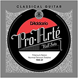 D'Addario TNN-3T - Juego de cuerdas clásica
