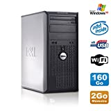 PC Tour DELL Optiplex 360 MT Intel E7400 2.8Ghz 2Go Disque 160Go DVD WIFI Win XP