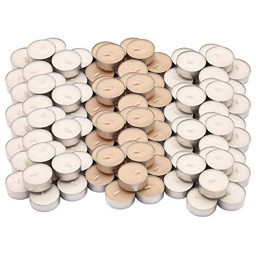 Ikea sinnlig - set di 120 candele profumate alla vaniglia dolce