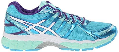Asics Womens Gel Evate 3 Running Shoe Turquoise/White/Purple