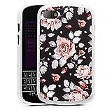 DeinDesign BlackBerry Q10 Silikon Hülle Case Schutzhülle Roses Rosen Flowers