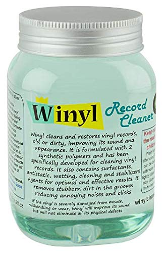 Winyl Record Cleaner - Profi Vinyl Reinigungs Gel 500ml / 16,9 fl.oz