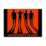 LaMAGLIERIA Poster A Clockwork Orange - Posterdruck glänzend laminiert - Format, 70cmx100cm
