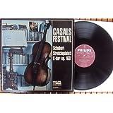 Streichquintett op. 163 - Casals Festival. Sandor Vegh, Sandor Zöldy, Georges Janzer, Pablo Casals, Paul Szabo. Club Sonderauflage Stereo