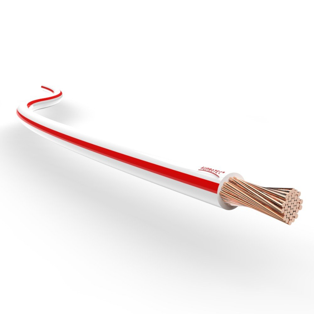 AUPROTEC Kabel weiß-rot