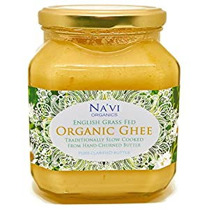 Organic Certified - Grass Fed - English Ghee (350 ml) 1