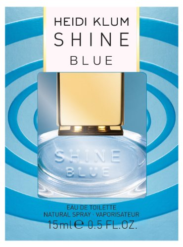 Heidi Klum Shine Blue EdT 15 ml, 1er Pack (1 x 15 ml)