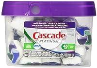 Cascade Platinum Actionpacs Fresh Scent Dishwasher Detergent 43 Count