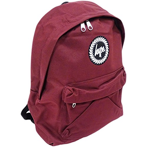 Just Hype Hype bag (Plain) Burg, Sac pour homme à porter à l'épaule Rouge Bordeaux taille unique