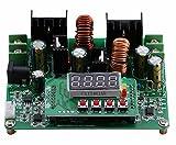Numerische Steuerung DC DC Boost Buck Spannungswandler, 38V 6A Step Up Down Spannungsregler Stablizer CC CV Transformator Modul Board Voltmeter Amperemeter mit LED-Digitalanzeige