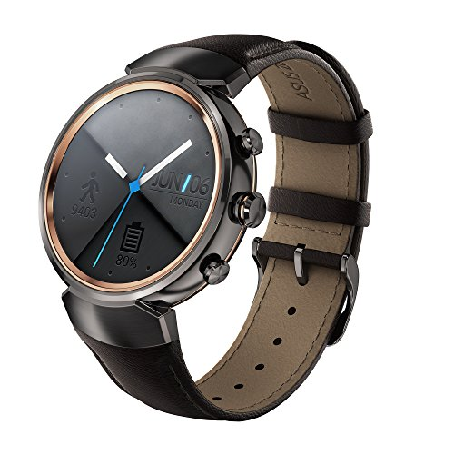 Asus ZenWatch 3 Smartwatch 1,39' Bluetooth Marron foncé