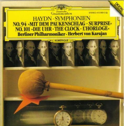 Haydn: Symphonien No. 94  - Mit dem Paukenschlag & No. 101 - Die Uhr -