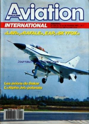 AVIATION MAGAZINE [No 934] du 15/02/1987 - LE PRESIDENT DE LA REPUBLIQUE AU PLATEAU Dâ ALBION - ECONOMIE - Lâ EUROPE SUR LE MARCHE DES LONG-COURRIERS - Lâ AVIATION GENERALE AMERICAINE MORIBONDE - DEFENSE - UNE VISITE AMICALE - ESPACE - MICROGRAVITE - UNE OUVERTURE POUR LES INDUSTRIES - INDUSTRIE - STERELA - UNE PETITE PME QUI INNOVE - HELIFRANCE - Lâ EFFET PARIBAS - IAI LAVI - UNE COURSE CONTRE LA MONTRE - RAFALE ET EAP - LA CROISEE DES CHEMINS - LE CONTENTIEUX EUROPE ETATS-UNIS - AIRBUS INDUST Pdf - ePub - Audiolivre Telecharger