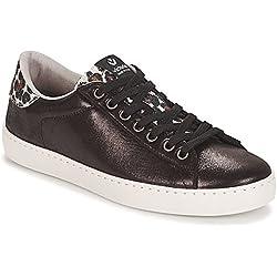 Victoria Deportivo Brillo/Leopardo, Zapatillas para Mujer, (Negro 10), 40 EU