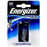 Energizer Ultimate Lithium Batterie LA522-E-Block 9V-Block Blister, Lithium, 9V