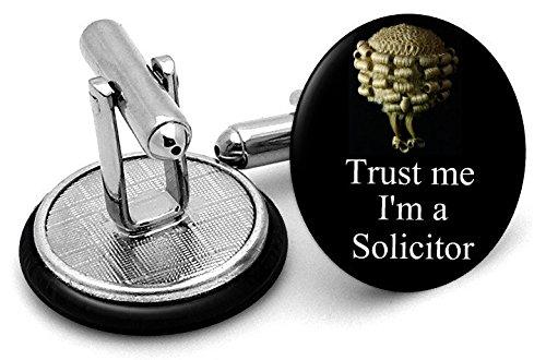 Trust Me I'm A Notaire boutons de manchette - Livré dans pochette cadeau
