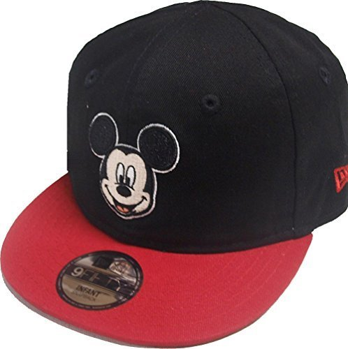 New Era Mickey Mouse Hero Essential 9fifty 950 Infant Snapback Cap Kids Toddler Baby