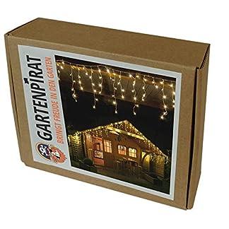 Gartenpirat-42-m-Eisregen-Lichterkette-mit-168-LED-warmwei-fr-auen