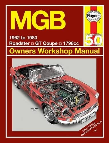 MGB 1962 To 1980 Cover Image