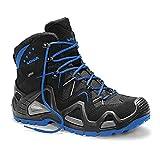 Lowa Hohe Schuhe Gore-Tex Ohne Kappe, Farbe:Schwarz/Blau;Schuhgröße:44 (UK 9.5)