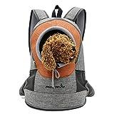 Caratteristiche:Questa borsa da viaggio per animali da compagnia è progettata specificamente per il tuo adorabile animale domestico.Cerniera inferiore per un facile accesso dell'animale domestico e rimozione del tappetinoCintura di design: per ridurr...