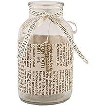Botella de cristal de la vendimia decoración de la boda del brote del florero de la