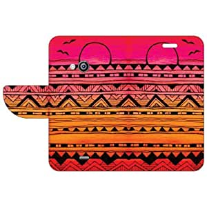 Nokia Lumia 535 Flip Cover - Abstract Art Designer Flip Cover