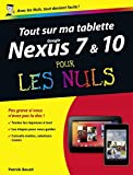 Tout sur ma tablette Google Nexus 7 Pour les Nuls