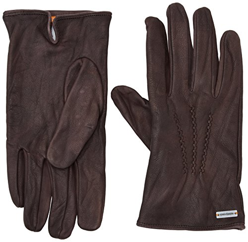 BOSS Orange Herren Handschuhe Gans2, Braun (Brown 201), Small (Manufacturer Size:8.5)