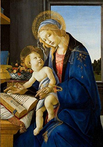 Sandro Botticelli: Madonna des Buches, 1480 -