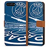DeinDesign Apple iPhone 7 Plus Étui Étui Folio Étui magnétique Paris Saint-Germain PSG Parc des Princes