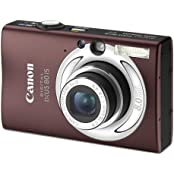 Canon Digital IXUS 80 IS Digitalkamera (8 Megapixel, 3-fach opt. Zoom, 2,5  Display, Bildstabilisator) braun