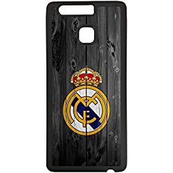 Carcasas para moviles Funda para movil de tpu compatible con huawei p9 lite real madrid escudo