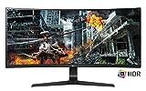 LG 34GL750-B 86,36 cm (34 Zoll) UltragearTM Curved 21:9 UltraWideTM Full HD IPS Gaming Monitor (144Hz, 1ms, AMD Radeon FreeSync), schwarz
