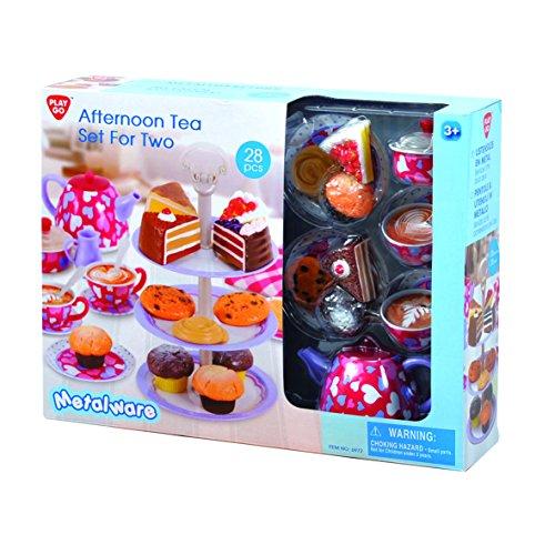 PlayGo 6972 - Teeservice für Zwei, Küchenspielzeug, 28-teilig