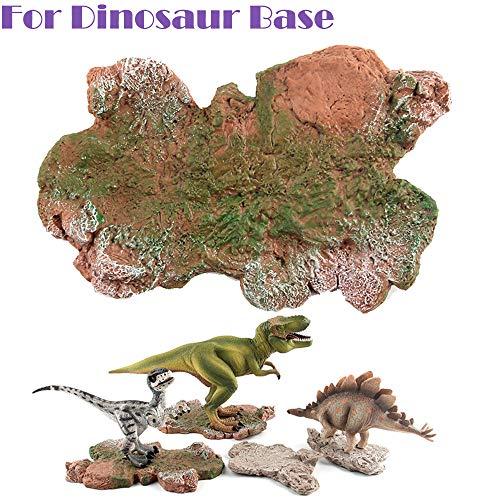 lustiges Spielzeug, ALIKEEY Dinosaurier-Baustein-Basismodell-Spielzeug-Kollektor-Dinosaurier-Plattform scherzt Geschenke
