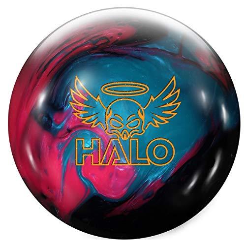 , Kohle Pearl/Fuchsia Pearl/Blau Pearl Oberfläche, Reaktiv Bowlingkugel für Einsteiger und Turnierspieler - inklusive 100ml EMAX Ball-Reiniger Größe 12 LBS ()