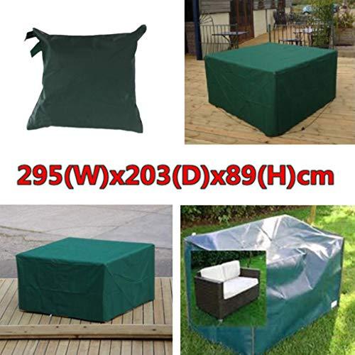 Yongse 295x203x89cm étanche jardin Mobilier d'extérieur Dust Cover Table Shelter