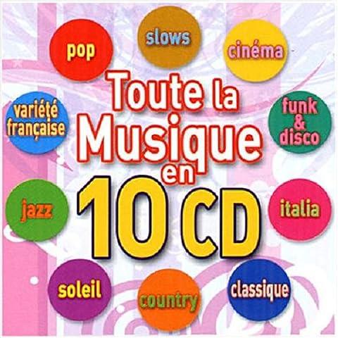 Coffret 10 CD : Toute la Musique en 10 CD