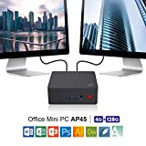 SeeKool AP34 Pro Mini PC, Windows 10 MINI Computer,Intel Apollo Lago N3450 Processore HD...