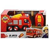 Feuerwehrmann Sam Infrarot gesteuerter Jupiter Feuerwehrauto mit Blaulicht • Ferngesteuertes Feuerwehr Auto Rettungswagen Spielzeug