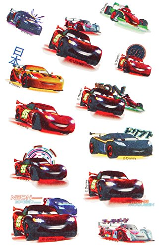 12 tlg. Set: Haut Tattoo - Disney Cars Tattoos Hauttattoo - Auto Haut