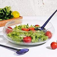 California Kaşıklı Cam Salata Kasesi 30 Cm