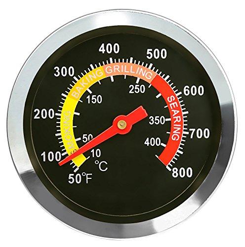 DOZYANT Temperatur Gauge Grill Pit Thermometer Fahrenheit für Grill Fleisch Kochen Rindfleisch Schweinefleisch Lamb